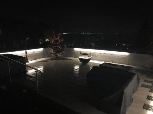 LED Mauerabdeckung